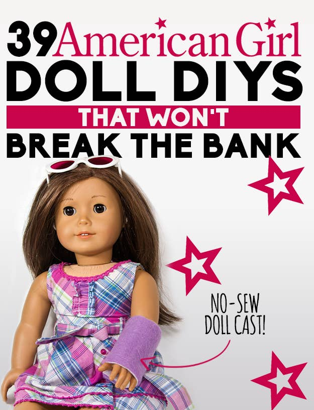 39 American Girl Doll DIYs That Wont Break The Bank