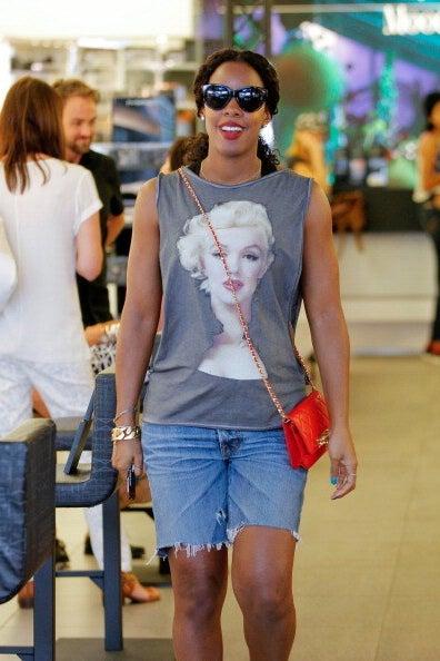 Kelly Rowland, the diva sporting diva.