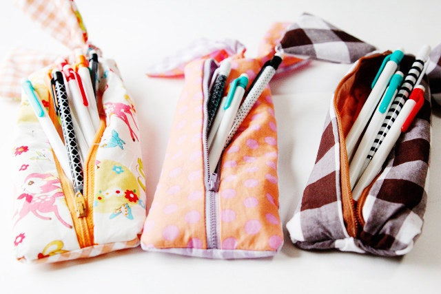 What's better than pulling a fresh set of pens and pencils out of an adorable pencil pouch? Not too much!