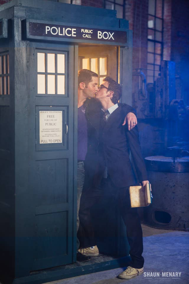 Gay marriage is still illegal in Texas, but that doesn't apply to Time Lords.