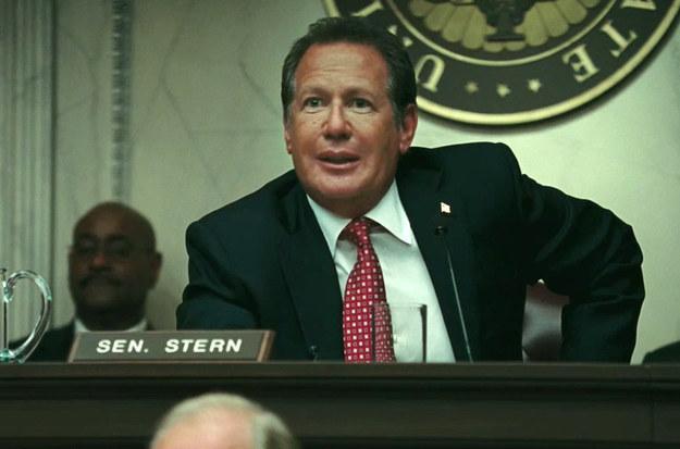 Senator Stern (Garry Shandling)