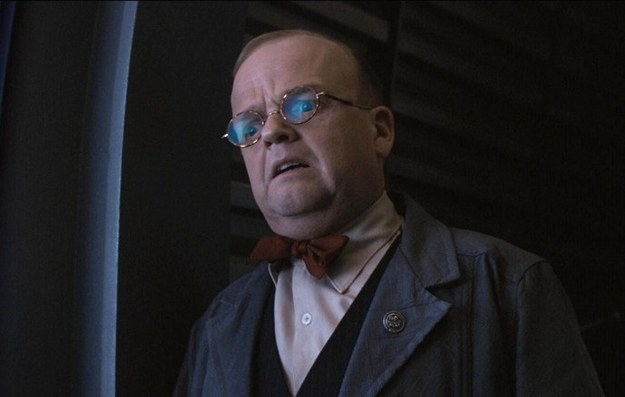 Dr. Arnim Zola, human version (Toby Jones)