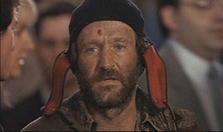 Directed by Terry Gilliam, Williams played a crazy homeless man. That combo right there has a spot on the top 10. Watch this movie again and you will see a lot of foreshadowing for Jeff Bridges character in Big Lebowski.