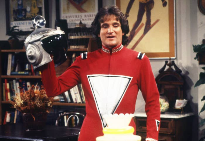 A spin-off of Happy Days, Mork and Mindy was Robin Williams' first real exposure to audiences. It remains an excellent first impression, the kind of television series that sounds silly on paper — an alien from the planet Ork arrives on Earth to observe human behavior — but works largely because Williams makes it work. His Mork is equal parts absurd and lovable, a combination Williams would bring to many of his future roles. —Louis Peitzman