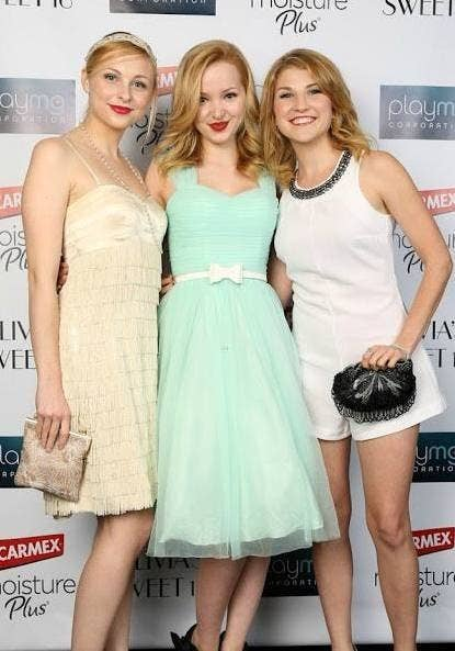 Shelby Wulfret, Dove Cameron and Emmy Buckner from Liv and Maddie