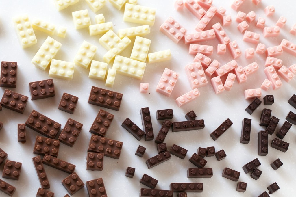 You Can Actually Build Stuff With These Awesome Chocolate Legos