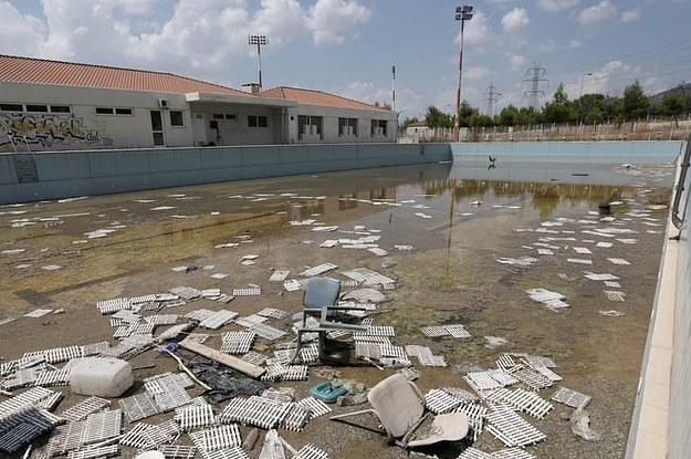 The Athens 2004 Olympics Site Is Being Left To Rot 10 Years After The Games