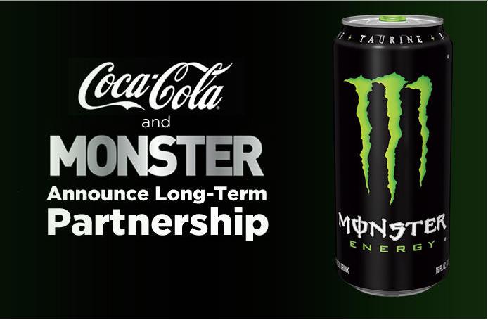 Coca-Cola Buys 17% Of Monster Beverage, Underscoring Meteoric Rise Of Energy Drinks