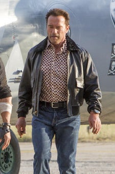 Arnold Schwarzenegger in The Expendables 3