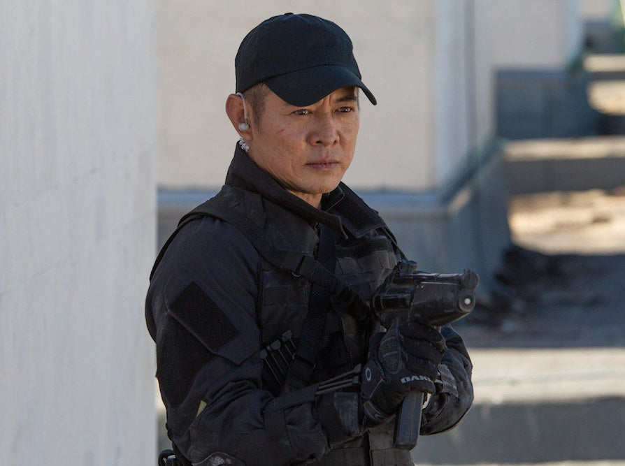 Jet Li in The Expendables 3