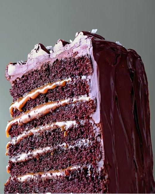 Recipe salted caramel chocolate cake