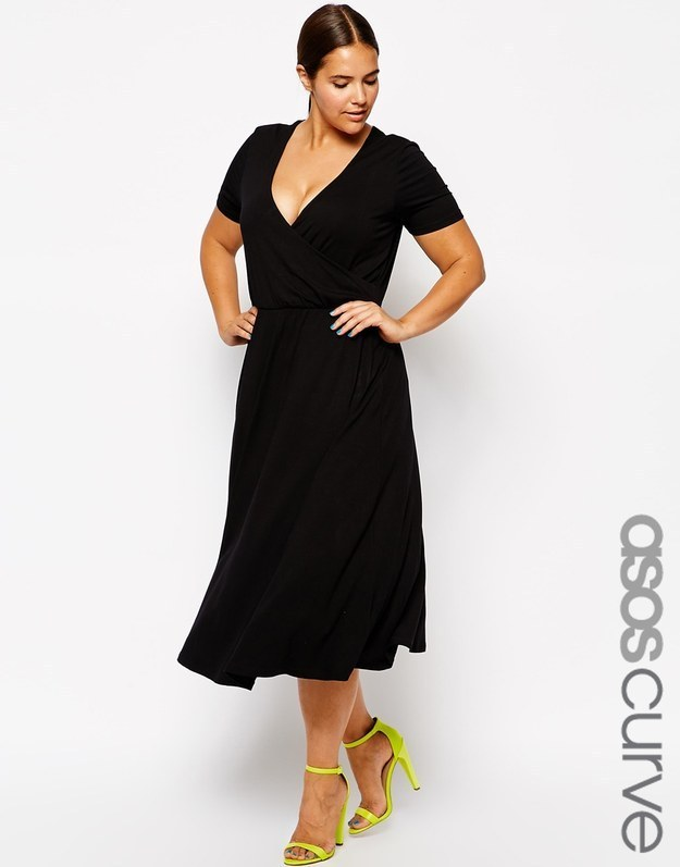 27 Fabulous Plus Size Little Black Dresses Under $50