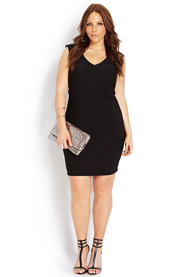 27 Fabulous Plus Size Little Black Dresses Under 50