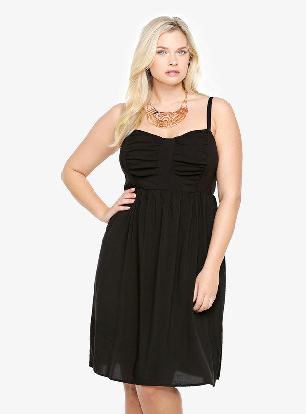 27 Fabulous Plus Size Little Black Dresses Under $50