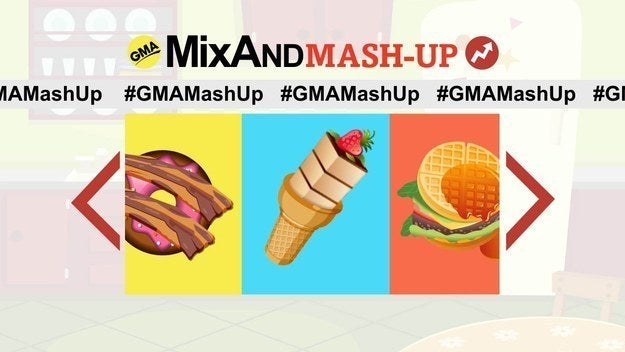 Tune into GMA on ABC between 8 a.m. and 9 a.m., August 18-20, to see more awesome food mash-ups and cast your vote for the winner!