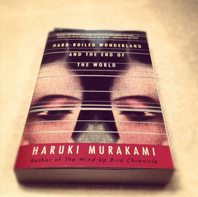 """""""Murakami's bold willingness to go straight over the top [is] a signal indication of his genius...a world-class writer who has both eyes open and takes big risks."""" via Washington Post Book World"""