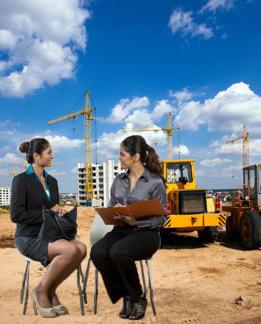 They're an important time to show off your confidence. If possible, try to meet with recruiters and hiring managers at a construction site so your confidence can be at an all-time high as friendly construction workers share their opinions about your various body parts.