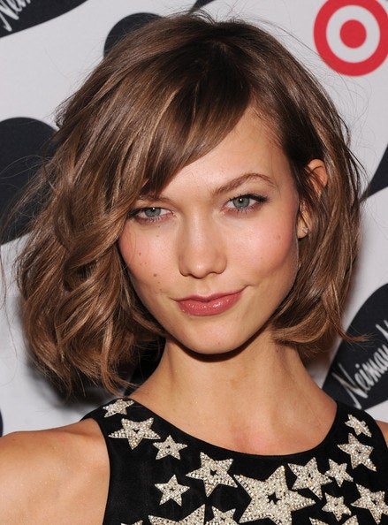 Sure, the model genes certainly help, but anyone can pull off Karlie's effortless bob. Those bangs! That swish! The ease!