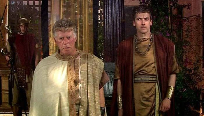What better place to start than to revisit Peter's first episode? He plays the sure-to-be-doomed Lucius Caecilius Iucundus, a Roman merchant and art enthusiast (he asks to buy the TARDIS) who has the misfortune to live in Pompeii. While it's far from the best episode of Doctor Who, it does give us a bit of interesting trivia. RTD had a reason for Capaldi being in both Doctor Who & Torchwood, and he's discussed with Moffat.