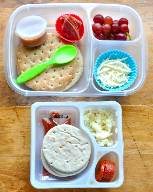 Make your own healthier Lunchables.