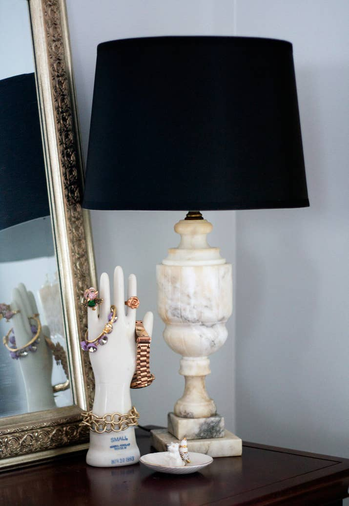 How to rewire a vintage lamp so it wont burn your house down et voila youx27re done enjoy your super cheap and super greentooth Choice Image