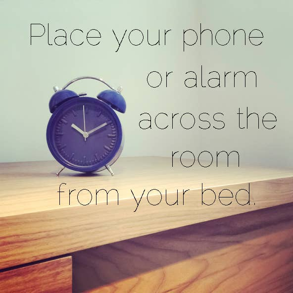 By the time you've dragged your body from point A to point B, chances are you'll feel much more awake.