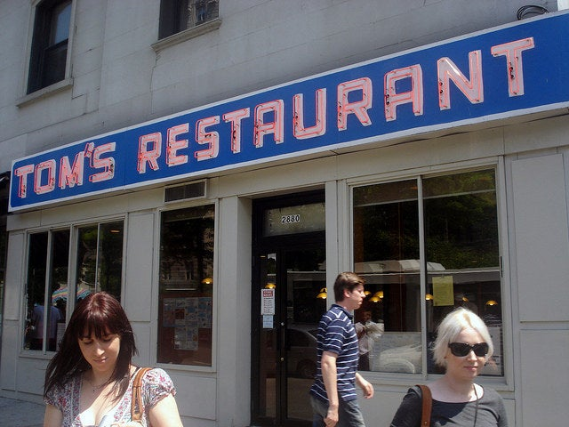 Tom's Restaurant is where it's at. Hearty and affordable meals are served up in this family-owned Morningside Heights landmark since the 1940s. Also: Suzanne Vega wrote a song about it.