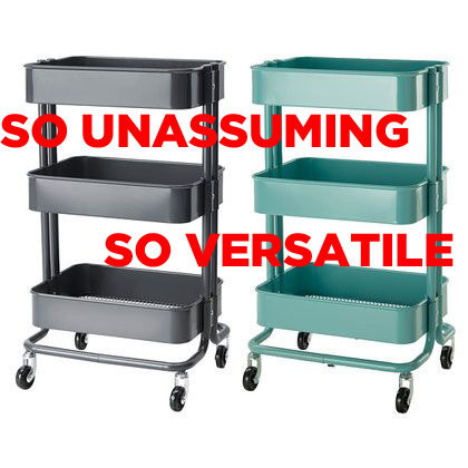 This Is The Råskog Ikea Kitchen Cart.