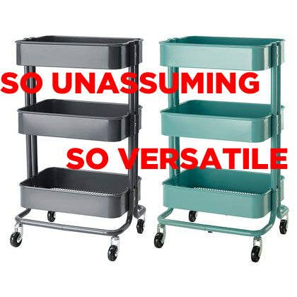 Stupendous This Kitchen Cart Is The Only Ikea Item You Really Need Spiritservingveterans Wood Chair Design Ideas Spiritservingveteransorg