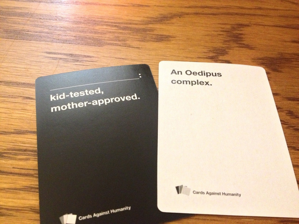 Humanity Answers Share On Facebook Share Buzzfeed The 21 Worst Cards Against Humanity Cards To Play Around Family