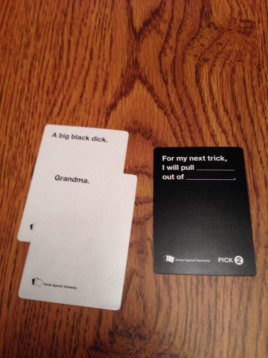 Answers Share On Facebook Share Buzzfeed The 21 Worst Cards Against Humanity Cards To Play Around Family