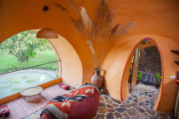 If you're a fan of tiny homes, this $9K dome home that only took six weeks to construct is not to be missed.