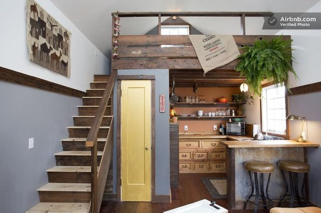 6 add a loft over your kitchen