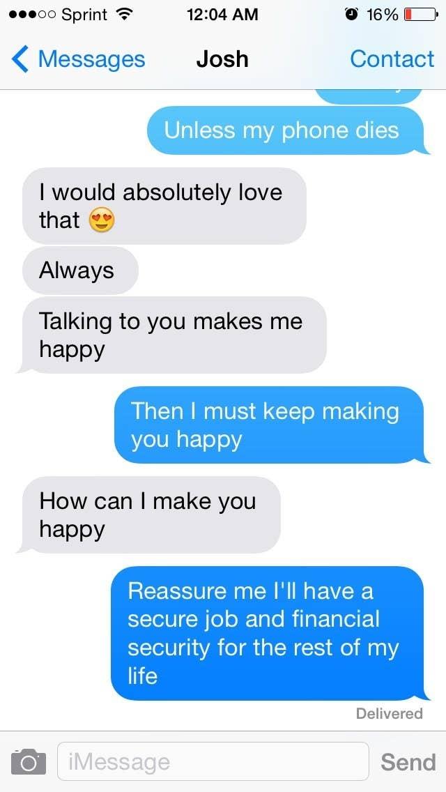 flirty response to i want you