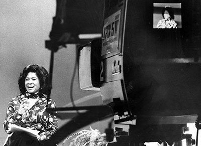 """In 1966, Belva Davis became the first African-American woman television reporter on the West Coast.In her autobiography """"Never in My Wildest Dreams"""", Davis recounts the challenges of breaking into broadcast journalism at a time when stories of particular importance to African Americans and women rarely made mainstream newscasts. When news directors preposterously claimed that blacks couldn't pronounce long words because their lips were """"too thick to enunciate properly."""" When a San Francisco station manager dismissed her from a job interview by explaining that he just wasn't """"hiring any Negresses."""""""