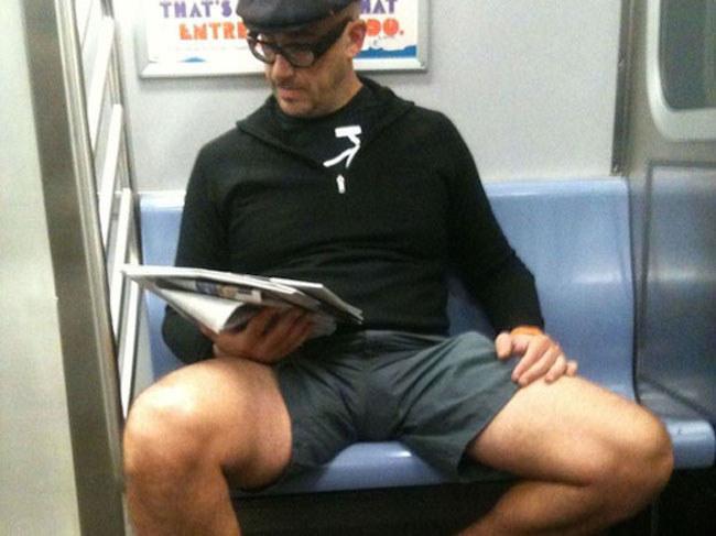Legs Of Sitting Man 59