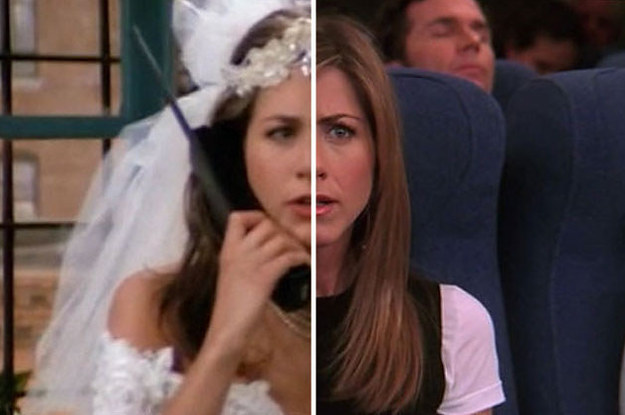 the cast of friends on the first episode vs the last episode