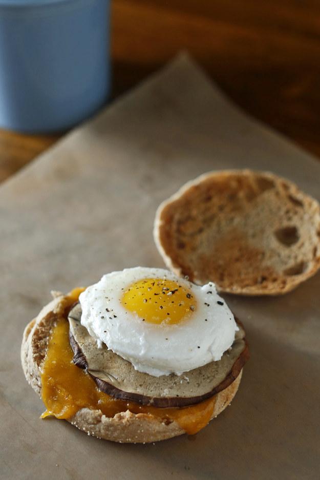 Vegetarian Egg McMuffin
