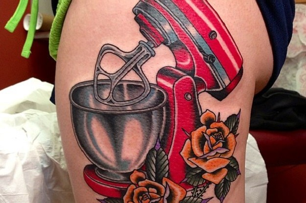10 Awesome KitchenAid Tattoos