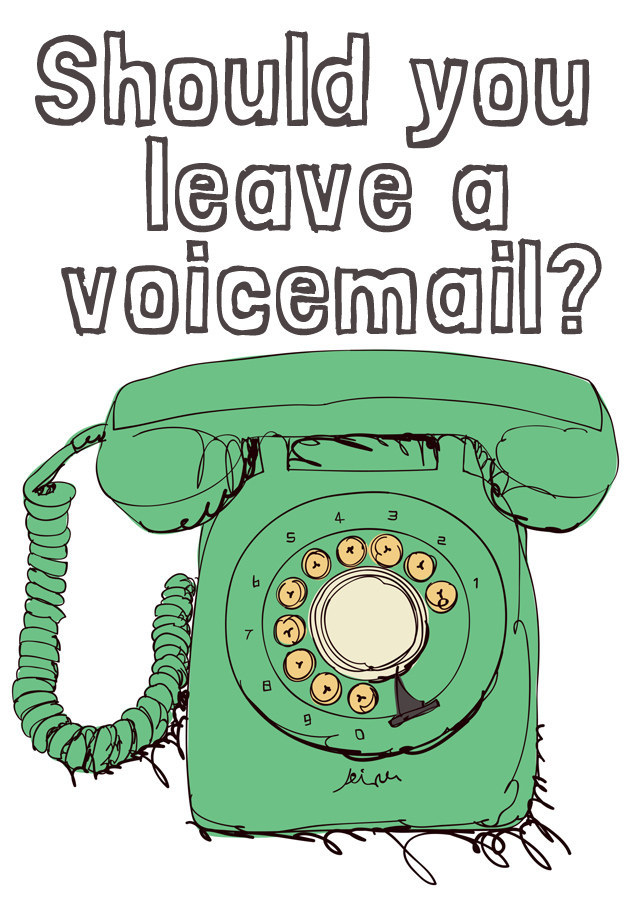 how to leave a voicemail without calling iphone should you leave a voicemail 8265