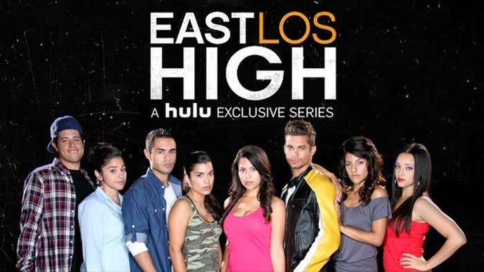 "While Devious Maids was the first television series to feature an all Latina leading cast, East Los High not only features Latino actors, but also a predominantly Latino writing staff and production crew.The show's co-creator, Carlos Portugal says, ""My hope is that people from East LA get to see themselves in the show portrayed as diverse human beings and not the typical Latino stereotypes we see in TV and films."""