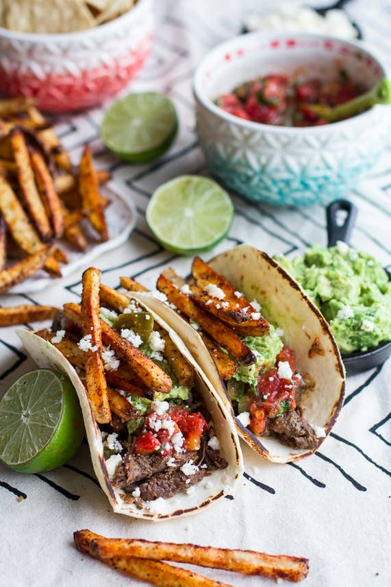 Waiting all day for Sunday night. (...because that's when the Crock Pot carne asada will be ready, obvs.) Get the recipe.