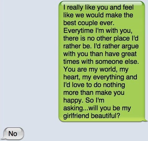 Ten most romantic things to say to a girl