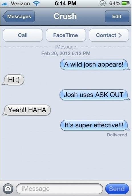 Sweet text ideas for someone youre dating