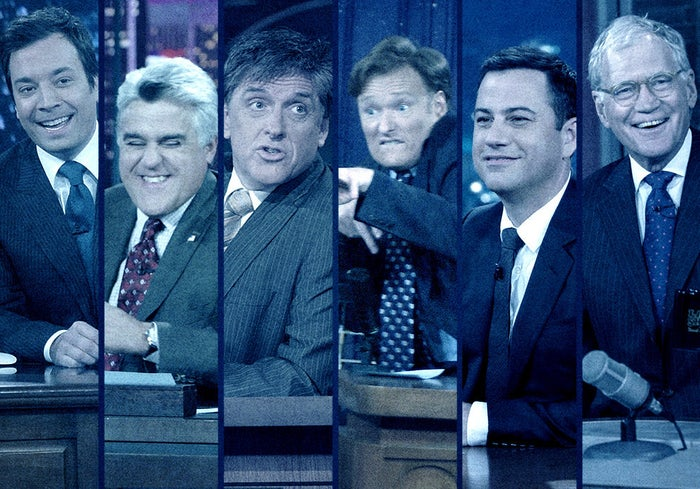 The white men of late night.