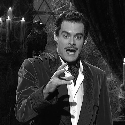 Bill Hader as SNL characters Vincent Price…