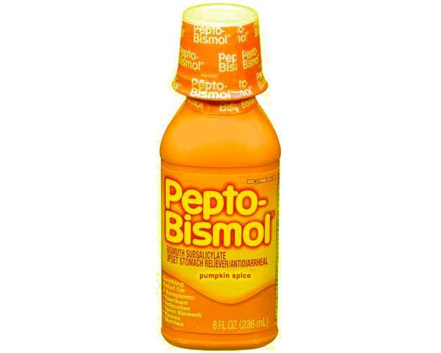Pumpkin Spice Pepto Bismol