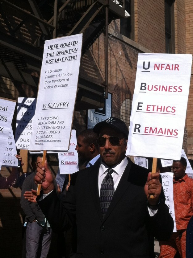 Uber Drivers Face Uphill Battle As New York Protests