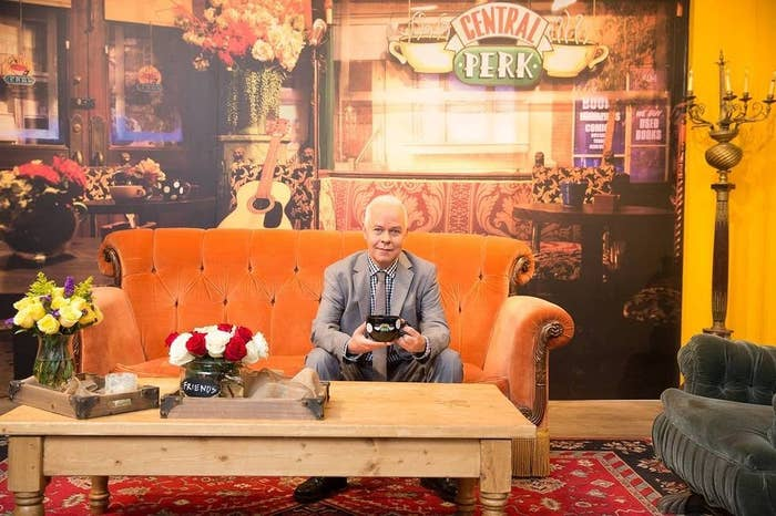 James Michael Tyler is back to blond and back at Central Perk in honor of the 20th anniversary of the premiere of Friends. The actor who played coffee shop manager Gunther for 10 seasons of the NBC comedy is in New York promoting the Central Perk pop-up shop in SoHo in honor of the milestone. He sat down with BuzzFeed News to discuss the scenes we didn't see, the coffee that got him the job, how the bleached hair became his signature look, and much more.
