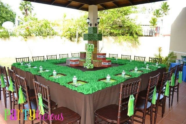 31 diy birthday party ideas that will blow your minecraft dont start your minecraft party without some solutioingenieria